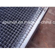 Panneau de treillis métallique serti pour tamis