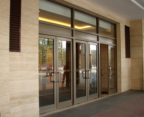 Automatic Swing Doors for Shopping Centers