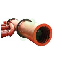 Trois séchoirs rotatifs à trois cylindres