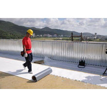 PVC Roofing and Waterproofing Membrane/PVC Waterproofing Membrane/PVC Basement Waterproof Membrane
