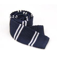 Corbata hecha punto poliéster del color sólido de la microfibra de la moda