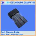 Komatsu peças de reposição PC300-8 diodo escavadeira 8233-06-3350