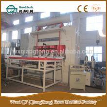 YX2400-6 * 9 máquina caliente de la prensa / prensa caliente laminada del laminado del ciclo corto de la melamina 1830 * 3660m m