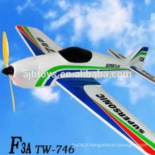 Rc avion china rc F3A rc Avion RC TW-746 rc avion rtf avions à vendre