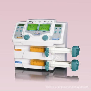 Medical Equipments Double Channel Syringe Pump