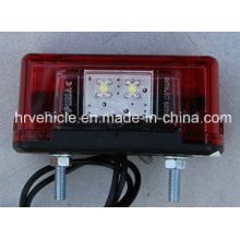 LED License Plate Light for Truck Heavy Duty Vehicle