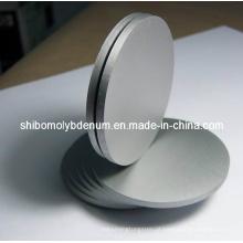 Disco de molibdênio polido para semicondutor