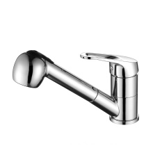 B0019-H Single handle pull-out spray kitchen mixer, pull-out spray mixer, pull out kitchen faucet