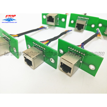 Adapter RJ45 do montażu PCB