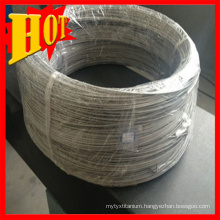ASTM B863 Gr7 Pure Titanium Wire in Stock