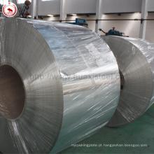 Lata de leite condensado com acabamento brilhante de alimentos pode ser usada em chapa de aço com 5.6 / 5.6gsm