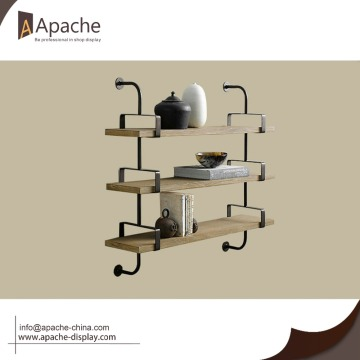 Fashion Design Various Size mounted metal wall shelf