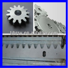 Steel zinc plated M6 gear rack 40*15*1000mm