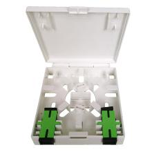 FTTH-Box mit 2 Anschlüssen und LWL-Anschlussfeld