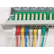 Cat6a blindé connecteur rj45 câble cat6a ethernet câble cat6 multi-paires