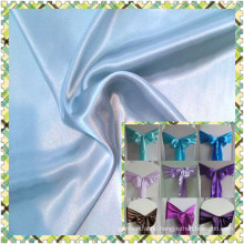 Polyester Satin Fabric for wedding 95g