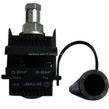Connecteur de fil de perçage d'isolation
