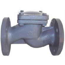 Обратный клапан с рычагом и грузом