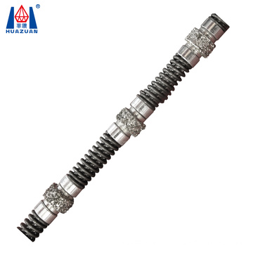Electroplated Diamond Wire Saw for Cutting Marble