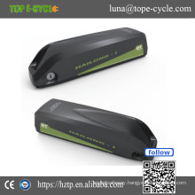 Hailong Down Tube Li-ion Battery, 36V Panasonic Electric Bike Battery