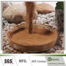 Additifs et liant d'alimentation de lignosulphonate de calcium de pulpe en bois