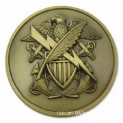 Doublesides 3D Military Coin