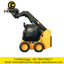 2017 Hot Sale Skid Loader Backhoe