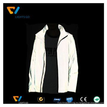 tela reflectante 3m de alta visibilidad para hacer una chaqueta