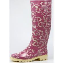 High Women's Beautiful Rubber Boots