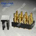 8 Pin Double Row Spring Loaded Pogo Pins mit Cap für SMT Sucker