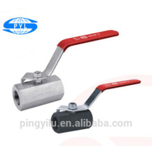 3pc 316 304 t type 3 way ball valve