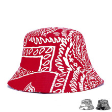 Fashion Printed Cotton Twill Sun Visor Bucket Hat (YKY3208)