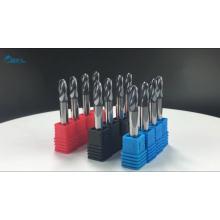 BFL-Swiss Nano Coating 2 твердосплавные шарикоподшипниковые фрезы с двумя канавками