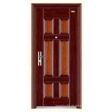 Heiße Ägypten Design billig Edelstahl Sicherheit Tür KKD-308 von China Top 10 Marke Tür