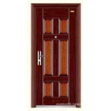 Hot Egypt Design Cheap Stainless Steel Security Door KKD-308 From China Top 10 Brand Door