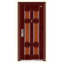 Egito quente Design inox barato segurança porta KKD-308 da China Top 10 marca porta