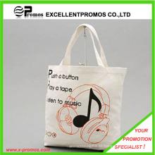 Promocional bolsa de tela reutilizable de algodón de la lona (EP-B9063)
