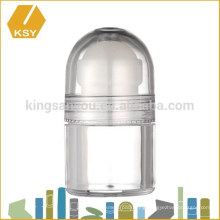 Cream packaging empty plastic acrylic jar bamboo cosmetic jars