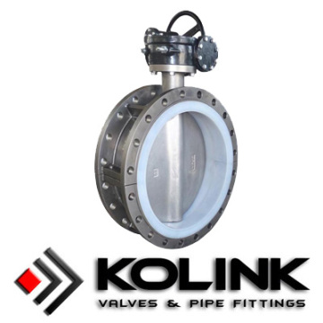 Low Cost for Flanged Butterfly Valve, Resilient Seated Flanged Butterfly Valve, Centerline Butterfly Valve Manufacturer Stainless Steel PTFE Lined Butterfly Valve supply to St. Pierre and Miquelon Factories