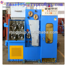 22DT(0.1-0.4)Copper fine wire drawing machine with ennealing(rod breakdown machine)