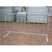 Hot DIP Steel Mobile Barriers
