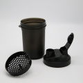 500ml plastic strainer mesh easy shaking water bottle