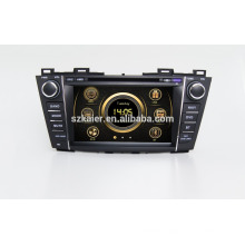 "8""car dvd player,factory directly !Quad core,GPS,radio,bluetooth for Mazda 5 2012"