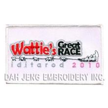 Remendos bordados Great Race de Wattie