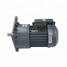 single phase gear motor  3 phase small 220V with vertical Mounted AC Gear Motor