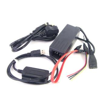 IDE SATA Hard Drive USB Cable Adapter