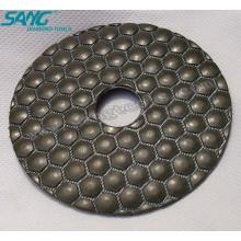Suministro de buena calidad de diamante seco Polishing Pad, almohadillas de polaco de diamante (SA-065)