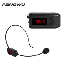 Professional Wireless Hands Free Fm Microphone