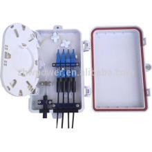 Fiber optic termination box 12/16/24 port wall mounted fiber optic patch panel ,plc splitter metal and plastic termination box