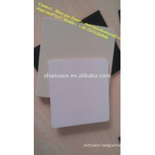 High Density And High Quality Pvc Extruded Foam Board/plexiglass sheets/materials in making slippers/polycarbonate sheets